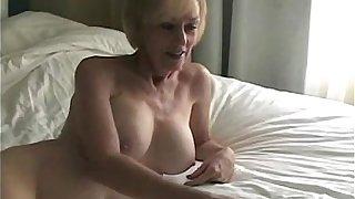 Cum On Grandmas Pussy