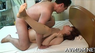 Asian mother i'd like to fuck can't live without sucking balls