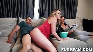 Adira Allure In Stepdaughter Sperm Send Off