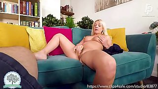 Hot Blonde Milf Amber Does Not Like Being Ignored - POV Blowjob and Riding