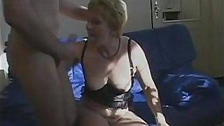 Hey My Grandma Is A Whore #13 - Marta - Hot grandma vigorously fucked by young boy