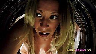 Stuck Mom banged from behind - Nikki Brooks