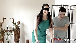 Latina Mom Lets Son Fuck Her In The Ass