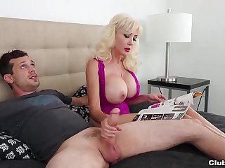 Step Moms RELUCTANT Handjob